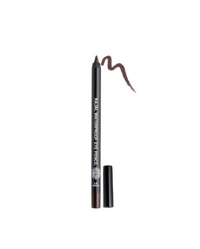 GARDEN OF PANTHENOLS Kajal Waterproof Eye Pencil 12 Brown Καφέ Μολύβι Ματιών, 1.4g