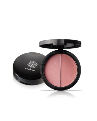 GARDEN OF PANTHENOLS Duo Blush Palette 08 Pink Champagne Παλέτα Ρουζ, 9g