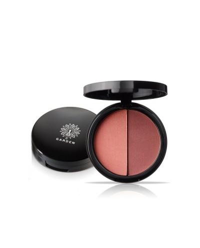 GARDEN OF PANTHENOLS Duo Blush Palette 09 Peach Blossom Παλέτα Ρουζ, 9g