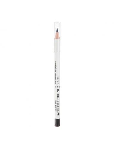 HEAN Hypoallergenic Eye pencil 302: Noir Black Μολύβι Ματιών Μαύρο, 1 τεμάχιο