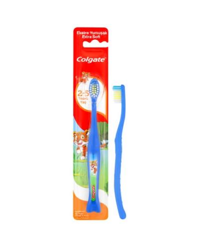 COLGATE Παιδική Οδοντόβουρτσα 2-5 ετών Extra Soft, 1 τεμάχιο