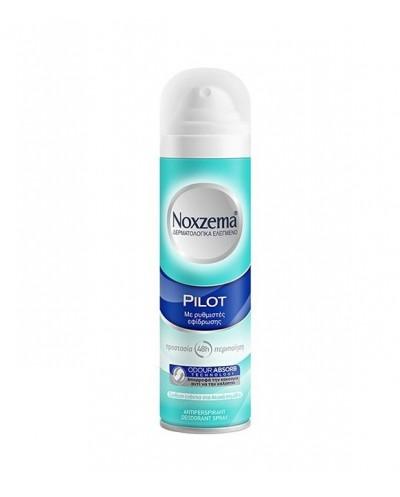 SARANTIS Noxzema Pilot 48h Spray Αποσμητικό Σπρέι 0% Οινόπνευμα, 150ml