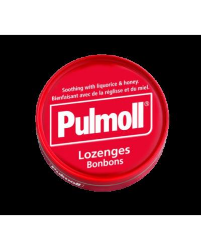 PARAPHARM Pulmoll Classic Παστίλιες Λαιμού με Γλυκόριζα & Μέλι, 75g