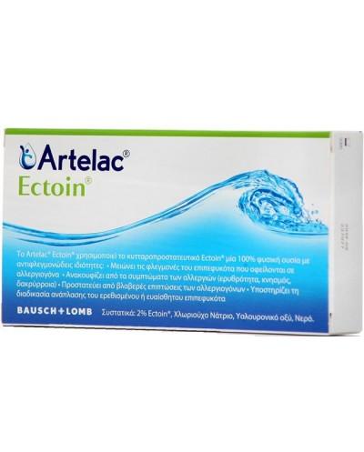 BAUSCH & LOMB Artelac Ectoin Οφθαλμικές Σταγόνες για Αλλεργική Επιπεφυκίτιδα, 20 περιέκτες x 0.5ml