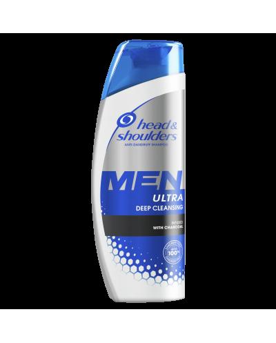 HEAD & SHOULDERS MEN Ultra Deep Cleansing Σαμπουάν για Βαθύ Καθαρισμό, 300ml