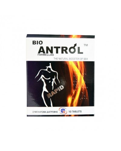 MEDICHROM BioAntrol Rapid Φυτικό Συμπλήρωμα Διατροφής για Σεξουαλική Τόνωση του Άνδρα, 10 δισκία