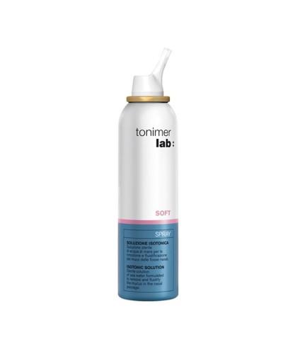 EPSILON HEALTH Τonimer Lab Soft Spray Ισότονο Aποστειρωμένο Ρινικό Διάλυμα Θαλασσινού Νερού, 125ml