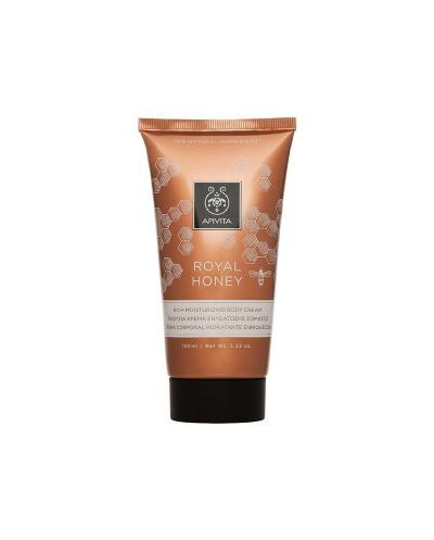 APIVITA Royal Honey Body Cream Κρέμα Ενυδάτωσης με Eλληνικό Θυμαρίσιο Μέλι, 150ml