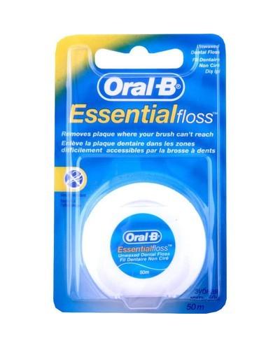 Oral-B Essential Floss Ακήρωτο Οδοντικό Νήμα, 50m