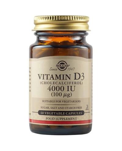 SOLGAR Vitamin D3 4000IU...