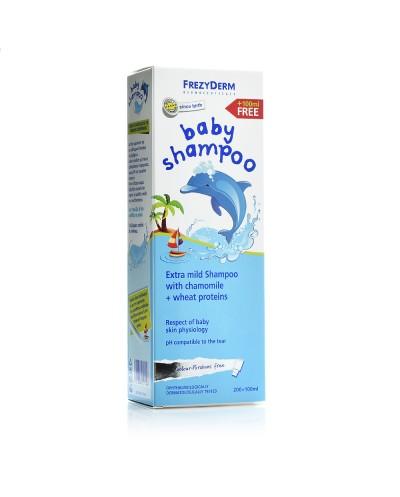 FREZYDERM Baby Shampoo Απαλό Βρεφικό Σαμπουάν, 300ml