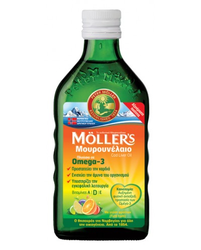 MOLLERS Cod Liver Oil Υγρό...