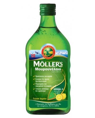 MOLLERS Υγρό Μουρουνέλαιο...