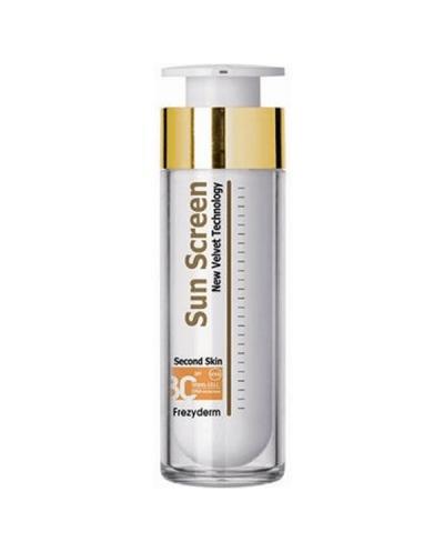 FREZYDERM Sun Screen Velvet Face Cream SPF30 Αντηλιακή Kρέμα, 50ml