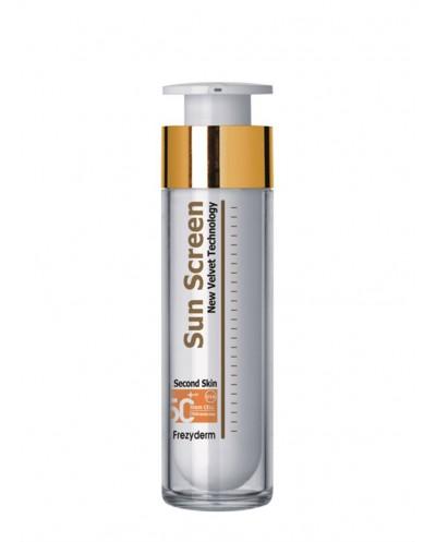 FREZYDERM Sun Screen Velvet Face Cream SPF 50+ Αντηλιακή Kρέμα, 50ml