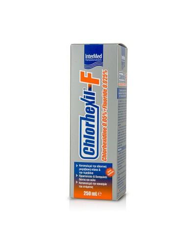 INTERMED Chlorhexil-F Mouthwash Φθοριούχο Στοματικό Διάλυμα, 250ml