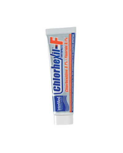 INTERMED Chlorhexil-F Toothpaste Φθοριούχος Οδοντόπαστα με Χλωρεξιδίνη, 100ml
