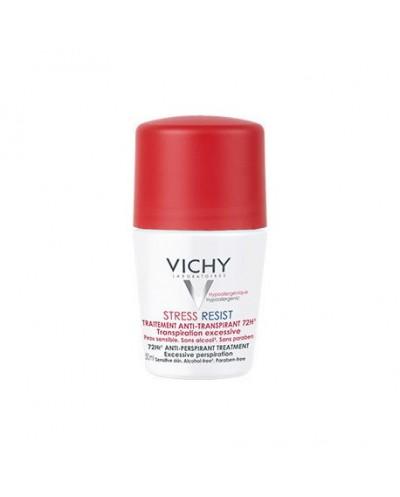 VICHY Deodorant 72h Stress Resist Roll-on Αποσμητικό για Πολύ Έντονη Εφίδρωση, 50ml