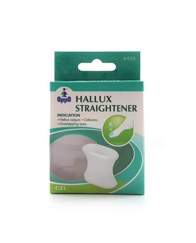 OPPO 6420 Hallux Straightener Διαχωριστικό Μεγάλου Δακτύλου από Σιλικόνη