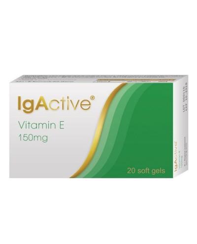 NOVAPHARM IgActive Vitamin E 150mg, 20 μαλακές κάψουλες