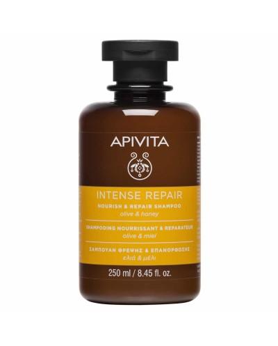 APIVITA Nourish & Repair Shampoo Σαμπουάν Θρέψης & Επανόρθωσης με Ελιά & Μέλι, 250ml