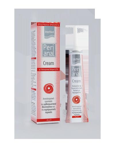 INTERMED Perianal Cream Kρέμα επούλωσης και ανακούφισης αιμορροΐδων, 45g