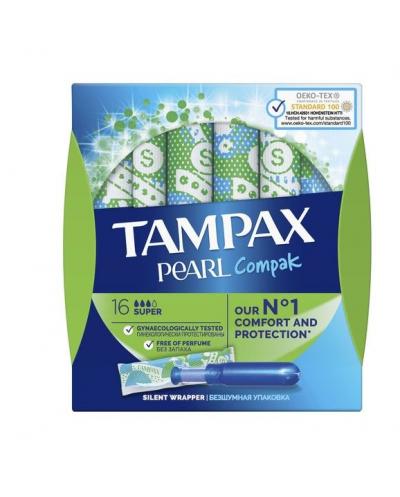 TAMPAX Pearl Compak Super...
