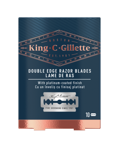 GILLETTE King C Double Edge...