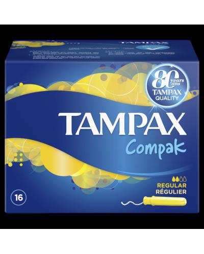 TAMPAX Compak Regular...