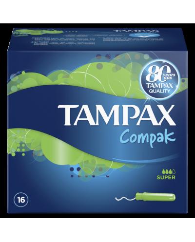 TAMPAX Compak Super Ταμπόν...