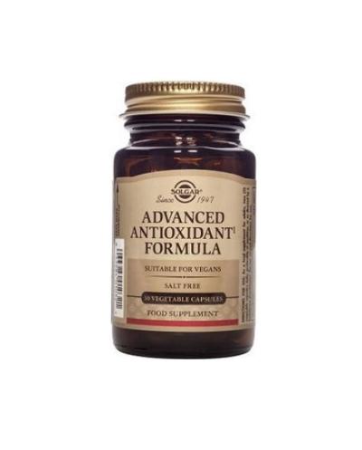 SOLGAR Advanced Antioxidant Formula Αντιοξειδωτικό, Καπνιστές, Στρες, 30 κάψουλες