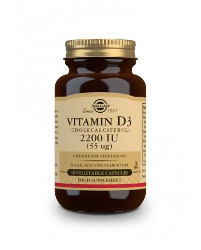 SOLGAR - Vitamin D3 2200IU 50 veg.tabs