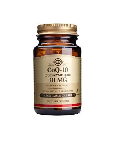 SOLGAR CoEnzyme Q10 Συμπλήρωμα διατροφής με Συνένζυμο Q10 30mg, 30 κάψουλες