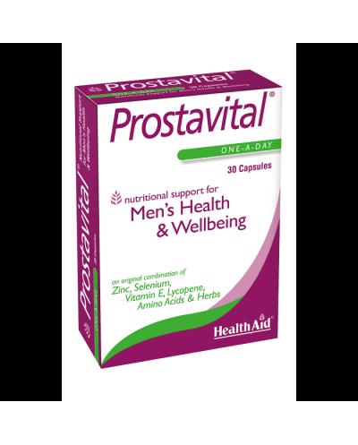 HEALTH AID Prostavital Φυτικός Συνδυασμός για τον Προστάτη, 30 κάψουλες