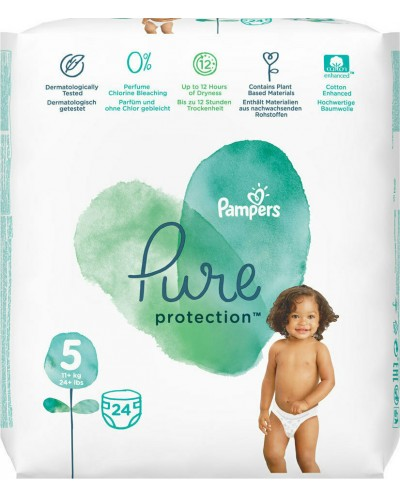 PAMPERS Pure Protection...