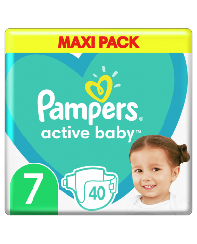 PAMPERS Active Baby No.7...