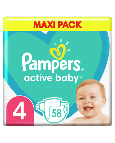PAMPERS Active Baby No.4...