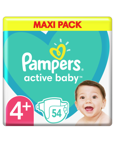 PAMPERS Active Baby No.4+...