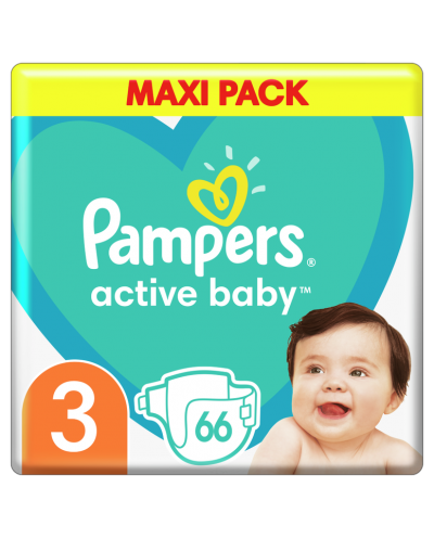 PAMPERS Active Baby No.3...