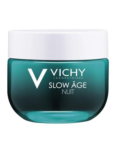 VICHY - Slow Age Night Αναζωογονητική Kρέμα Νύχτας & Μάσκα 2 σε 1 για Πρόληψη της Γήρανσης - 50ml