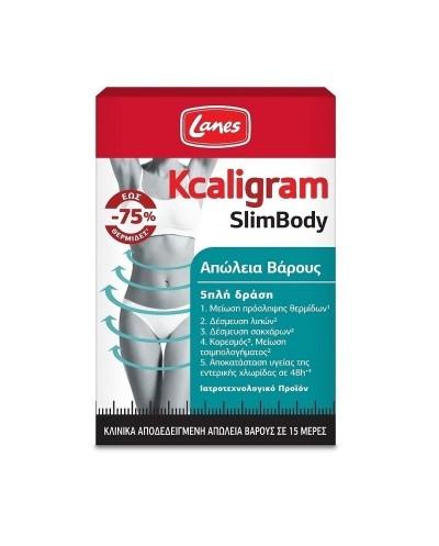 LANES Kcaligram SlimBody Απώλεια Βάρους, 60 κάψουλες