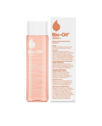 Bio-Oil PurCellin Λάδι Επανόρθωσης Ουλών & Ραγάδων, Σημάδια γήρανσης, 200ml